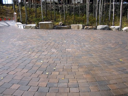 Acreage Circle Patio