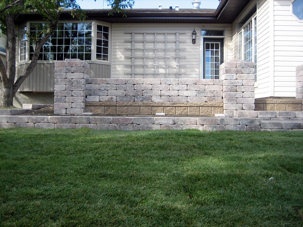 Landscaping Bricks Calgary : Location after morgan k landscapes