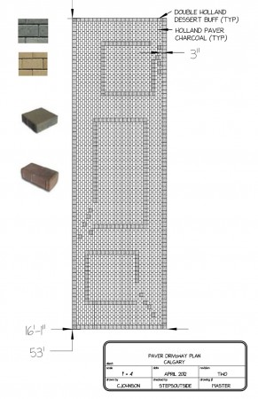 Brick Driveway Master Plan