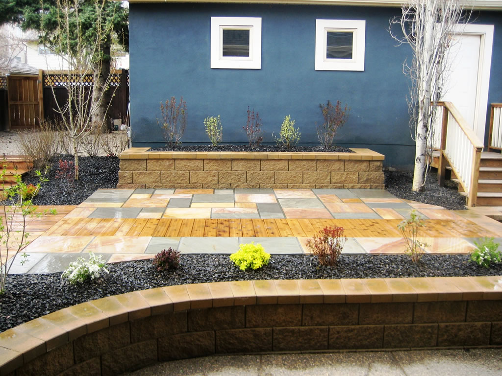 Custom Backyard - Morgan K Landscapes on Custom Backyards id=64166