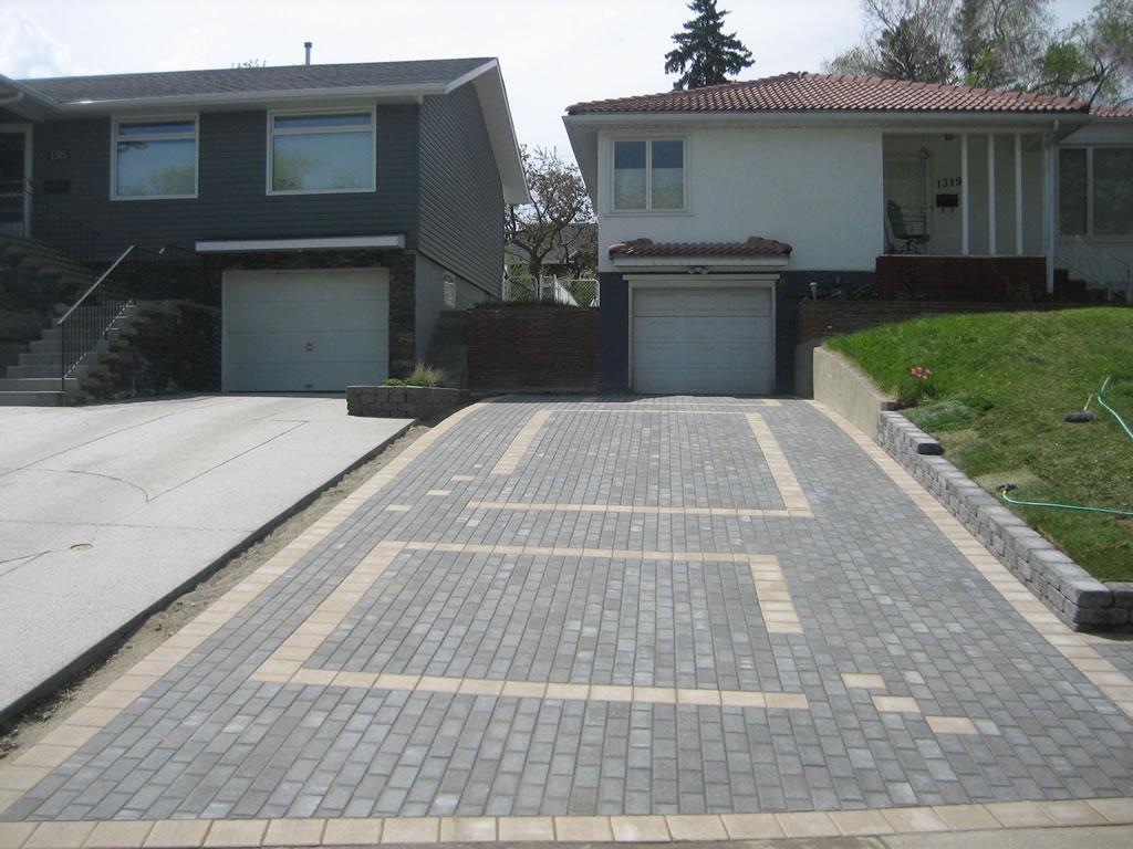Calgary Brick Driveway