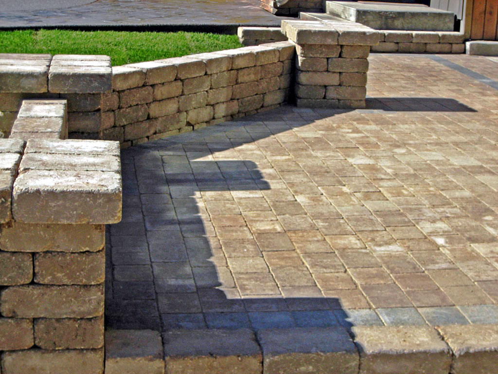 Dessert Buff Brick Patio