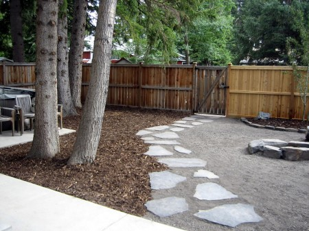 Flag Stone Stepping Path