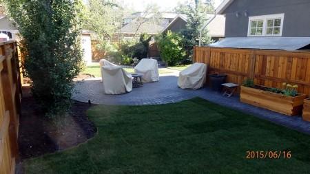 Inner city private yard 1