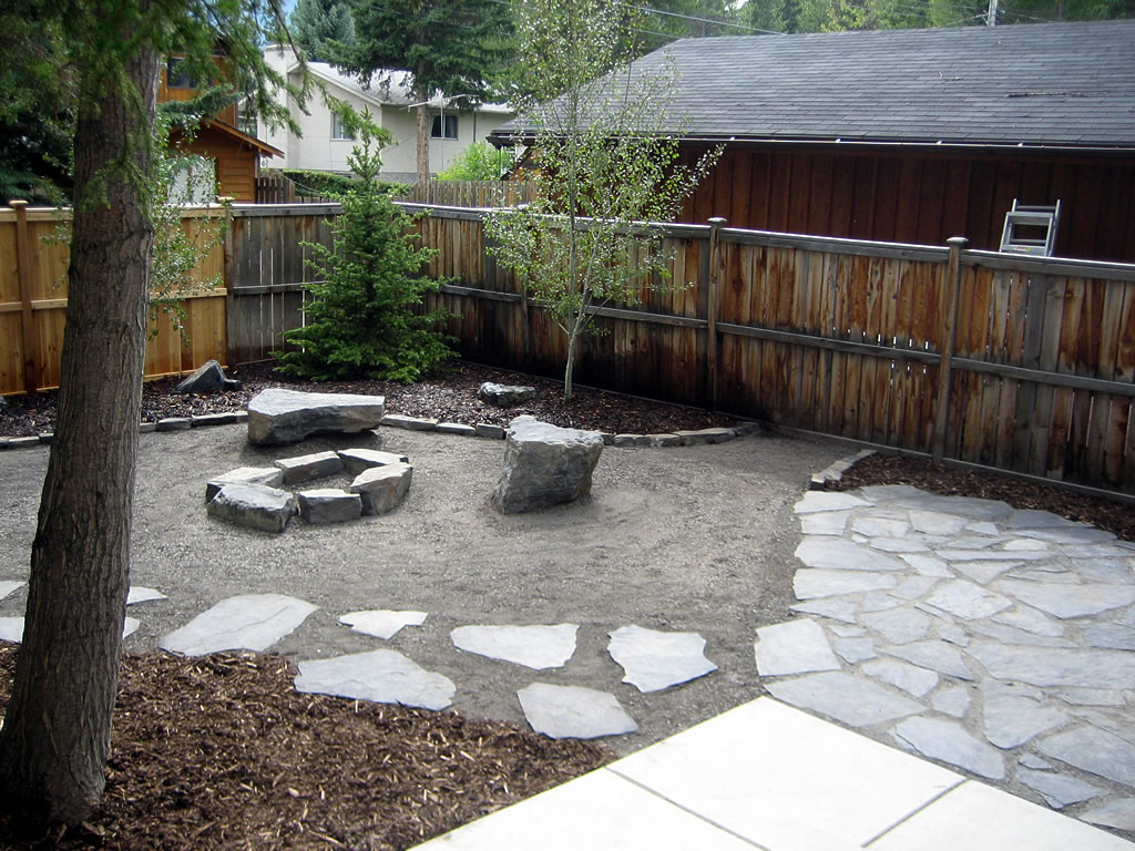 Natural Style Rundle Stone Yard Morgan K Landscapes