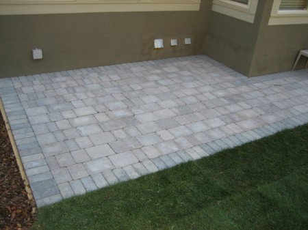 Roman Brick Patio