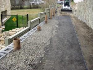 Engineered Retaining Wall