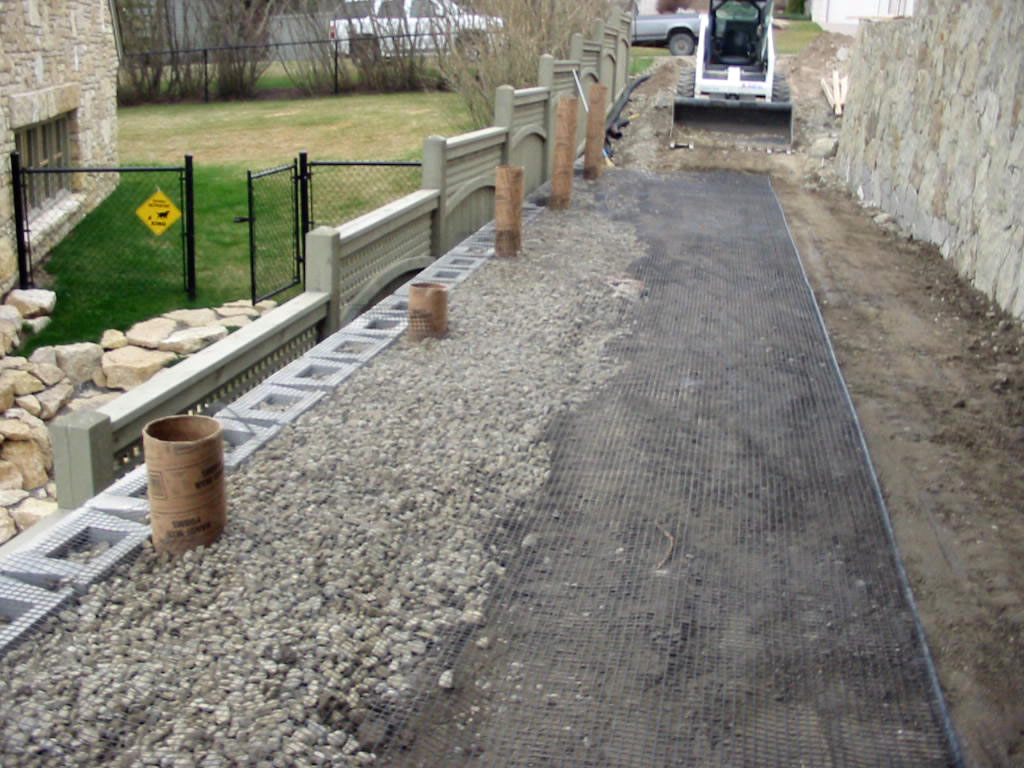 Engineered Retaining Wall