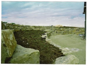 Sandstone Walling 1